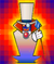 The Catch Card of Count Bleck in Super Paper Mario