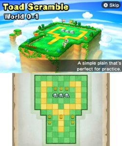World 0-1 from Mario Party: Star Rush