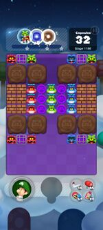 Stage 1186 from Dr. Mario World