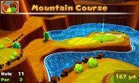 Hole 11 of Mountain Course in Mario Golf: World Tour