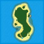 <small>N64</small> Koopa Troopa Beach bottom screen map
