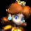 Princess Daisy's mugshot from Mario Strikers Charged.
