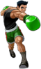 Little Mac's Spirit sprite from Super Smash Bros. Ultimate