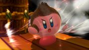 Kirby with Donkey Kong's ability