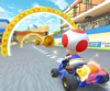 The icon of the Koopa Troopa Cup challenge from the 2019 Winter Tour in Mario Kart Tour