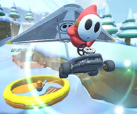 The icon of the Lakitu Cup challenge from the 2019 Winter Tour in Mario Kart Tour