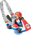The Mario Kart Popcorn Bucket featured at Super Nintendo World