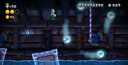 Haunted Cargo Hold from New Super Luigi U.