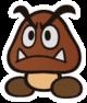 Goomba sprite from Paper Mario: Color Splash
