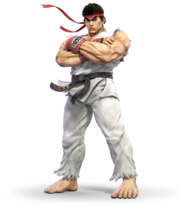 Ryu from Super Smash Bros. Ultimate