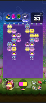 World 14's Special Stage from Dr. Mario World