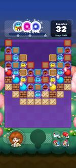 Stage 1064 from Dr. Mario World