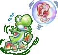 Floating Baby Mario Artwork - Yoshi's New Island.png
