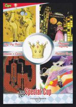 Mario Kart Wii trading card of the Special Cup.