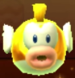 Gold Cheep Cheep as viewed in the Character Museum from Mario Party: Star Rush