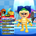 Ludwig von Koopa Mii Costume in the game Mario & Sonic at the London 2012 Olympic Games for the Wii.