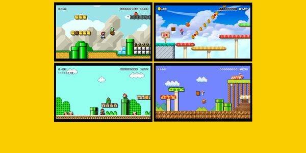 Banner for a Play Nintendo opinion poll on items from Super Mario Maker for Nintendo 3DS. Original filename: <tt>2x1_SMM3DSPoll02_v04.0290fa98.jpg</tt>