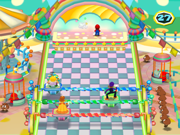 Stage Fright from Mario Party 6