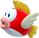 Artwork of a Cheep Cheep from New Super Mario Bros. U (later reused for Super Mario Party)