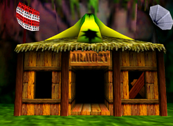 Funky's Armory in the game Donkey Kong 64.