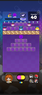 World 6's Special Stage from Dr. Mario World