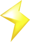 A Lightning (with no glow) from Mario Kart 7.