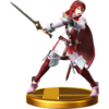 Lucina trophy from Super Smash Bros. for Wii U
