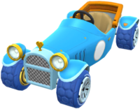 Blue Royale from Mario Kart Tour