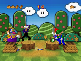Log Jam in the game Mario Party 3.
