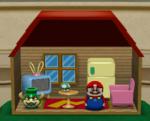 Mario's Present Room from Mario Party 4