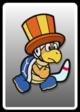 A Circus Bro card from Paper Mario: Color Splash