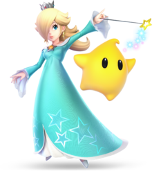 Rosalina & Luma from Super Smash Bros. Ultimate