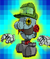 The Catch Card for Brobot L-type in Super Paper Mario