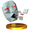 Andross trophy from Super Smash Bros. for Nintendo 3DS
