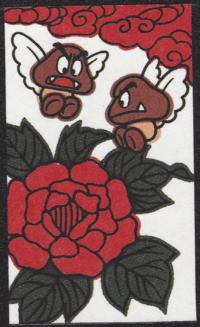 First card of June in the Club Nintendo Hanafuda deck.