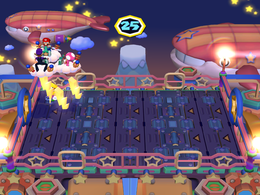 Conveyor Bolt at night from Mario Party 6
