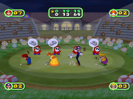 Sunday Drivers at night from Mario Party 6