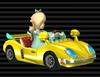 Rosalina in her Honeycoupe (Dragonetti in Europe) in Mario Kart Wii