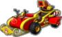 Mario's Candy-Cane Cruiser icon in Mario Kart Live: Home Circuit