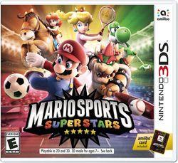 North American boxart for Mario Sports Superstars