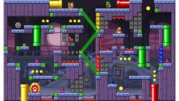 Miiverse screenshot of the 62nd official level in the online community of Mario vs. Donkey Kong: Tipping Stars
