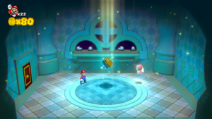 World Crown Sprixie House in Super Mario 3D World