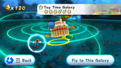 The Toy Time Galaxy.