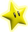 Artwork of a Super Star from Super Mario 3D World.