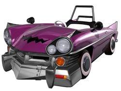 Artwork of the Wario Car from Mario Kart: Double Dash!!