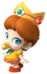 Artwork of Baby Daisy from Mario Kart Wii (also used in Mario Super Sluggers and Mario Kart Tour)