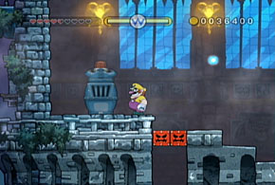 A screenshot of the Bad Manor level.