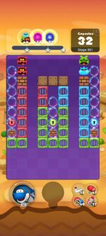 Stage 951 from Dr. Mario World