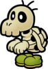 Artwork of Dull Bones from Paper Mario: The Thousand-Year Door