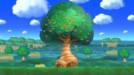 Acorn Tree in the game New Super Mario Bros. U.